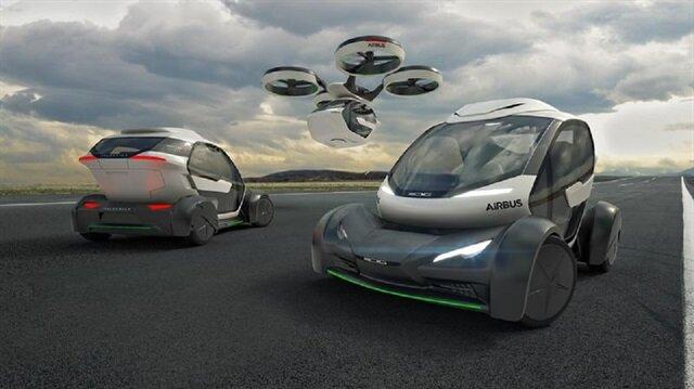 Airbus yeni konsept uçan otomobili tanıttı