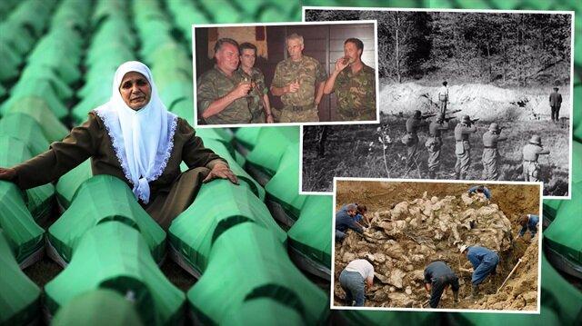Hollanda'nın soykırım lekesi: Srebrenitsa