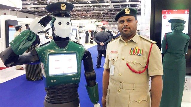 Dubai robot polislerle korunacak