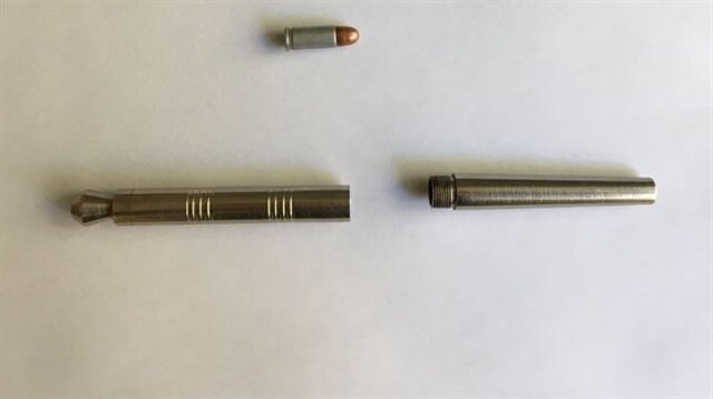 İstanbul'da 'kalem silah' ele geçirildi