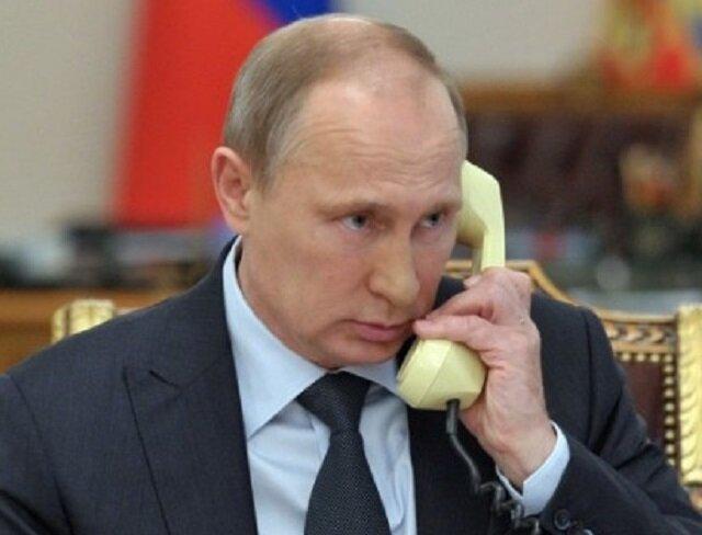 Putin'den tebrik telefonu