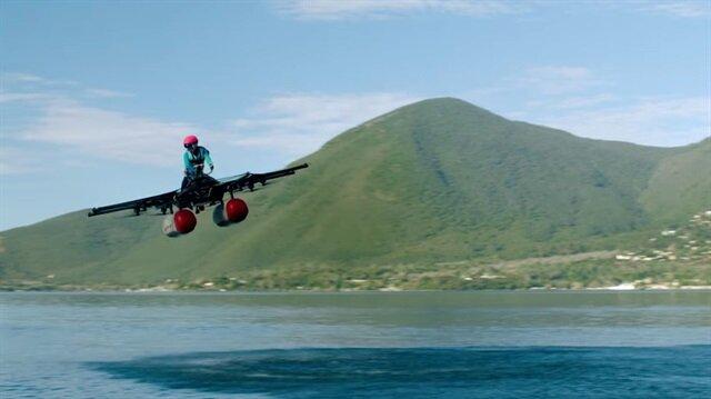 Google kurucusunun desteğiyle üretilen 'uçan otomobil' tanıtıldı