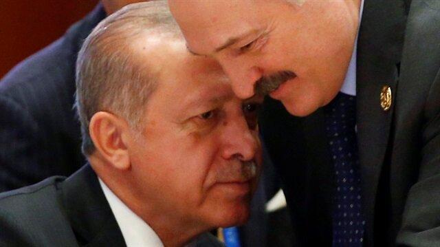 Erdoğan ve Lukaşenko'nun dikkati çeken sohbeti