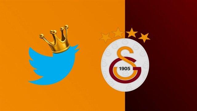 Twitter'da 7 milyon takipçiye ulaşan Galatasaray yine bir ilki başardı