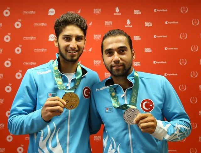 """التنس: ذهبيتان وفضيتان لتركيا بـ""""ألعاب التضامن الإسلامي"""""""