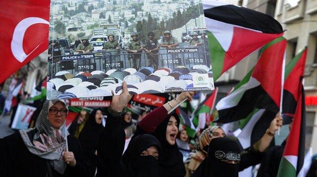 Mavi Marmara'nın 7.yılında 'Özgür Kudüs Yürüyüşü'