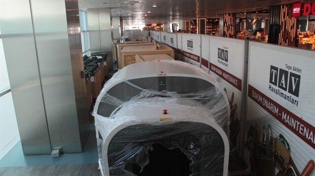 Atatürk Havalimanı'nda 'patlayıcı kalkanı' devreye giriyor.