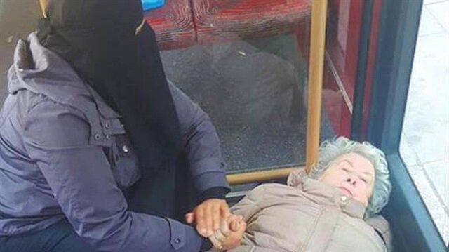 İngiltere, otobüsteki Müslüman kadını konuşuyor