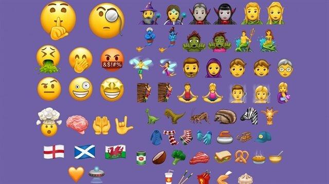"Android cihazlara ""Duygulara tercüman olan"" 56 yeni emoji geldi"