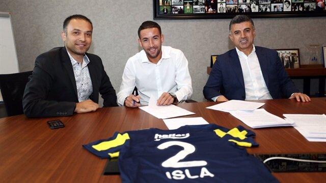 Fenerbahçe transferi resmen açıkladı: Isla formayı giydi