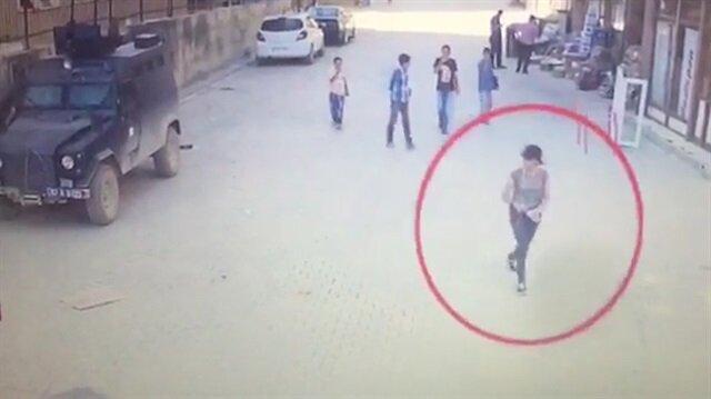 Suikast hazırlığındaki kadın terörist gözlem yaparken yakalandı!