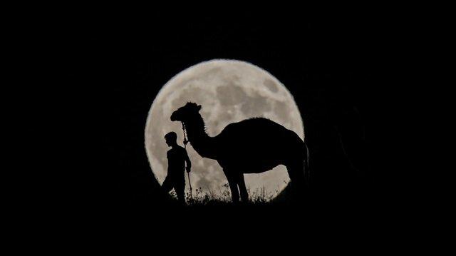 Dünkü Ay tutulması sırasında çekilen en başarılı fotoğraflar
