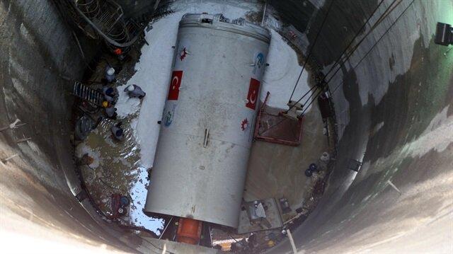İlk yerli tünel açma makinesi faaliyete geçti