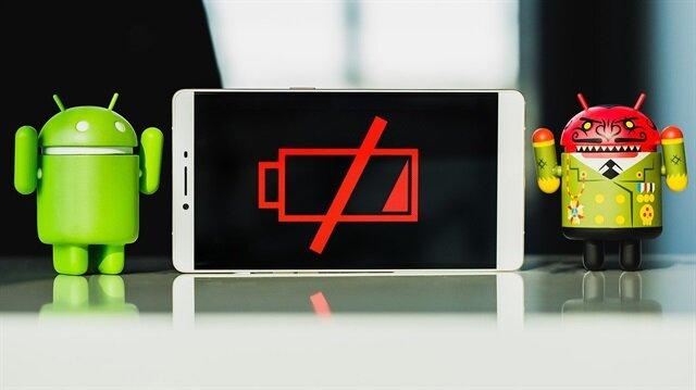 Android telefonların şarjını tüketen batarya düşmanı uygulama ve oyunlar