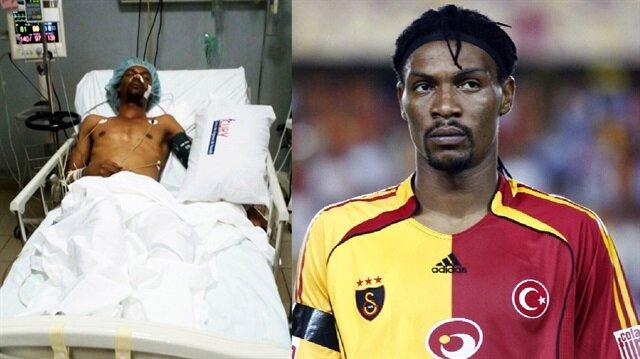 Beyin kanaması geçiren eski Galatasaraylı Song, futbola geri döndü!