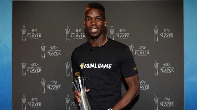 Paul Pogba ilk kez verilen ödüle layık görüldü