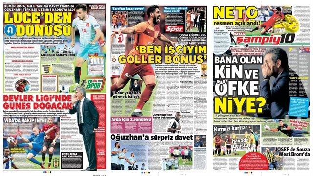 Basın Turu: Günün öne çıkan 15 spor manşeti