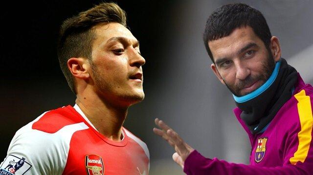 Avrupa'da yılın takası için bomba iddia: Arda Turan - Mesut Özil