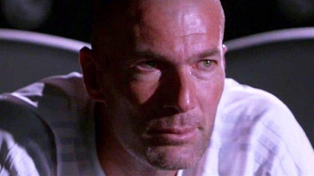 Zidane hüngür hüngür ağladı
