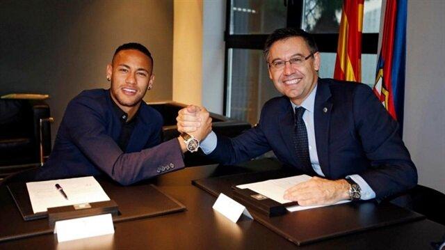 Neymar'dan Barcelona Başkanına: Bu adam şaka gibi!