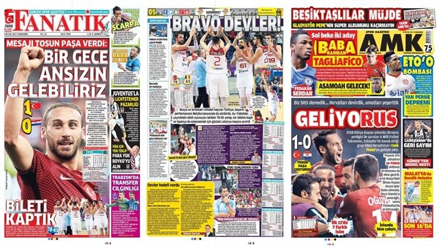 Basın Turu: Günün öne çıkan 54 gazete manşeti