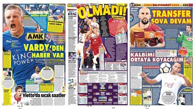 Basın Turu: Günün öne çıkan 29 spor manşeti