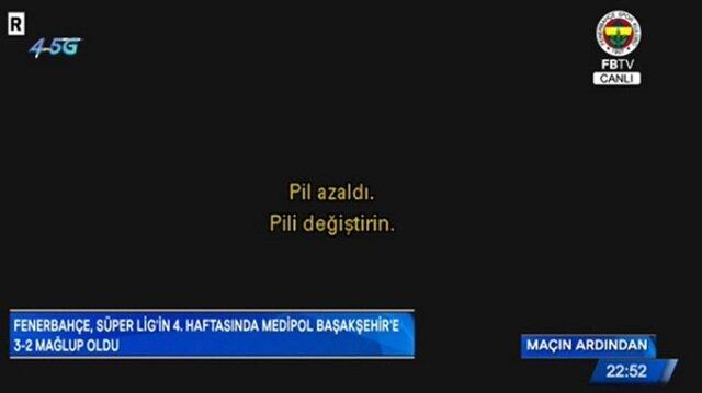 FB TV'de skandal: TV'nin pili bitti