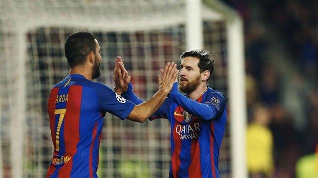 Messi ve Arda Turan La Liga'da forma giyemeyecek!