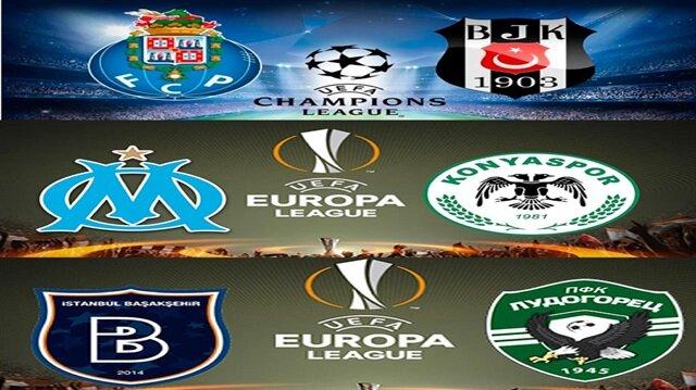Temsilcilerimizin Avrupa kupası maçları hangi kanalda?