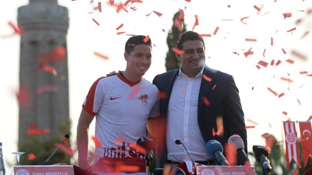 Samir Nasri'nin Antalyaspor'dan aldığı yıllık ücret dudak uçuklattı!