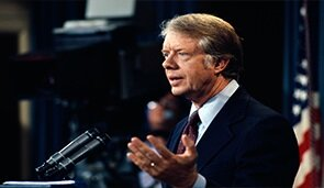 Dönemin ABD Başkanı Carter