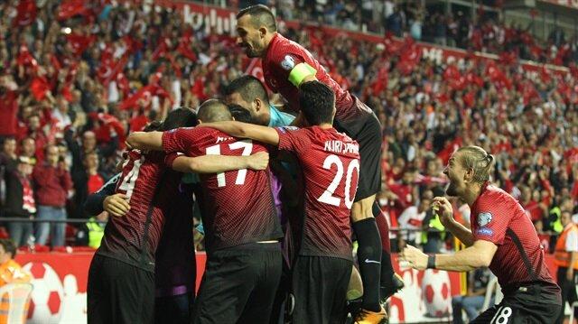 FIFA sıralamasında Türkiye yükselişe geçti!
