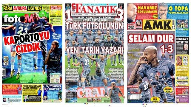 Basın Turu: Günün öne çıkan 41 spor manşeti