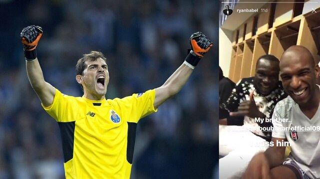 Casillas'tan Aboubakar'a tepki!