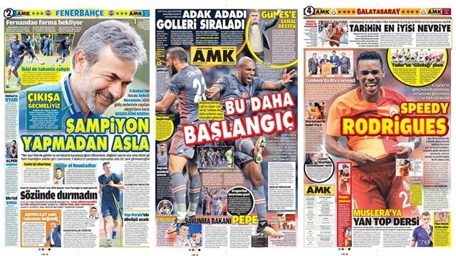 Basın Turu: Günün öne çıkan 33 spor manşeti