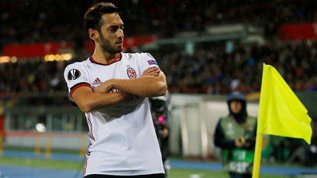 Hakan Çalhanoğlu döktürdü, Milan Çoştu