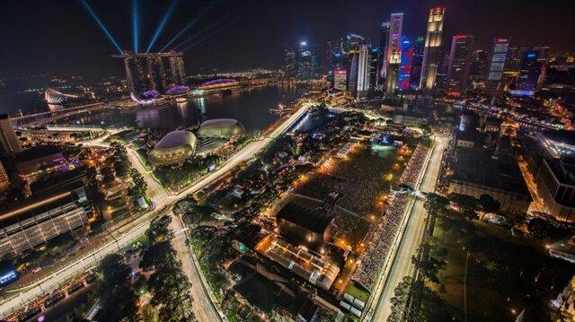 Formula 1'de gece yarışı heyecanı!