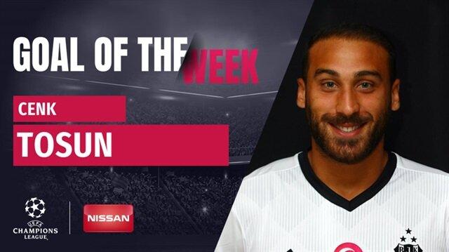 Cenk Tosun'un 25 metreden Porto'ya attığı gol Şampiyonlar Ligi'nde haftanın golü seçildi!