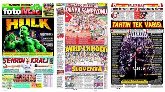 Basın Turu: Günün öne çıkan 64 spor manşeti