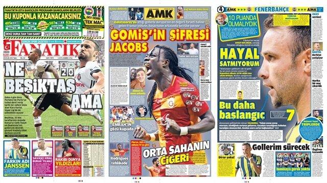 Basın Turu: Günün öne çıkan 49 spor manşeti