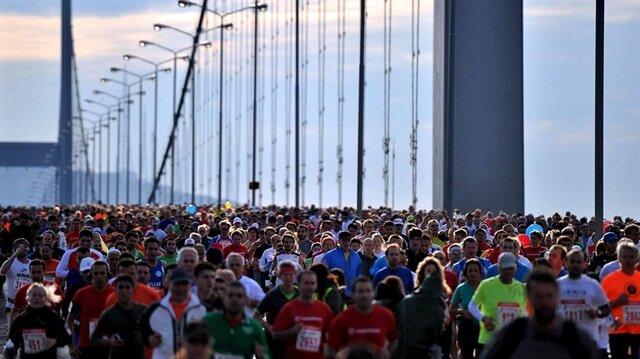 Vodafone İstanbul Maratonu için geri sayım başladı