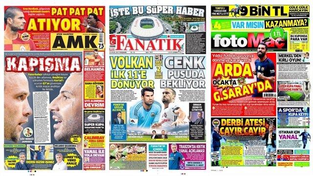 Basın Turu: Günün öne çıkan 40 spor manşeti