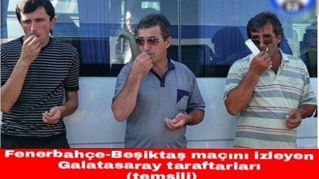 """Fenerbahçe-Beşiktaş maçı sonrası capsler patladı: """"Herkese benden kırmızı"""""""