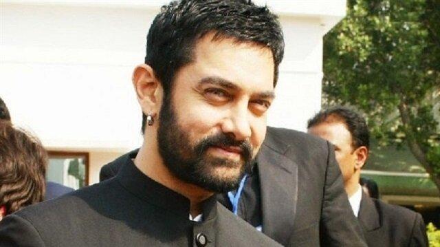 Havalimanında Aamir Khan izdihamı