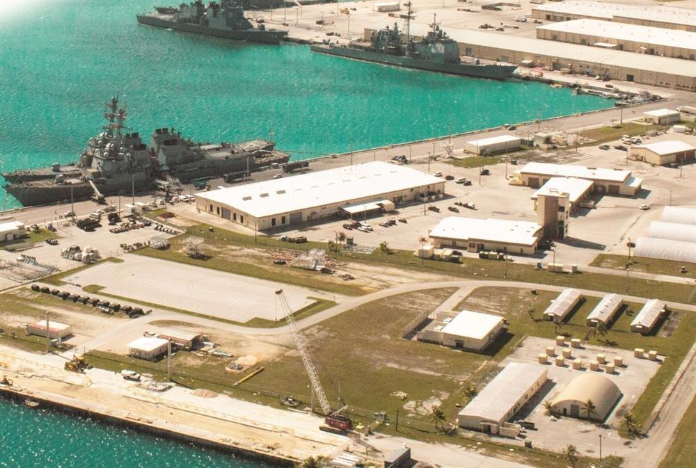 Terör örgütü üyelerine suikast, sabotaj, bomba ve istihbarat eğitimlerinin verildiği Guam Adası'ndaki Andersen Hava Üssü.