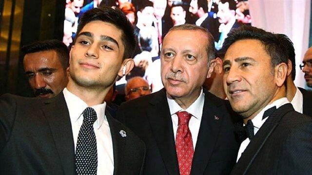 Cumhurbaşkanı Erdoğan İzzet Yıldızhan'ın oğlunun hayalini gerçekleştirdi