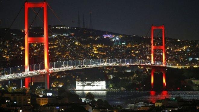 İstanbul-15 Temmuz Şehitler Köprüsü