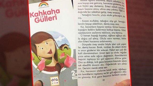 Skandal ifadelerin yer aldığı çocuk kitabı toplatıldı