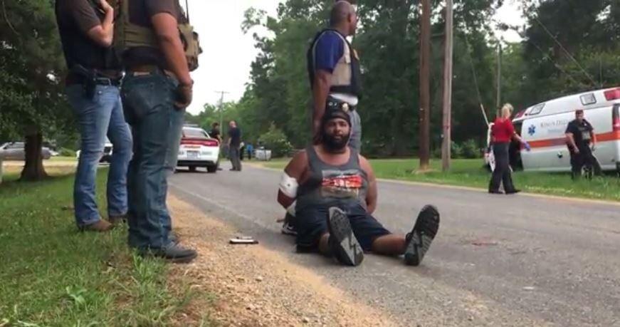 Mississippi'de 8 kişiyi öldüren saldırgan böyle yakalandı.