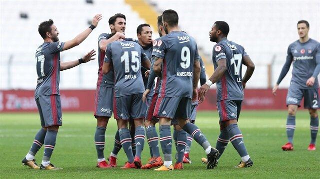 Beşiktaş tarihi farkla kazandı: 9-0